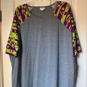 Nwt LulaRoe Halloween Irma Tunic Top Shirt Sz L